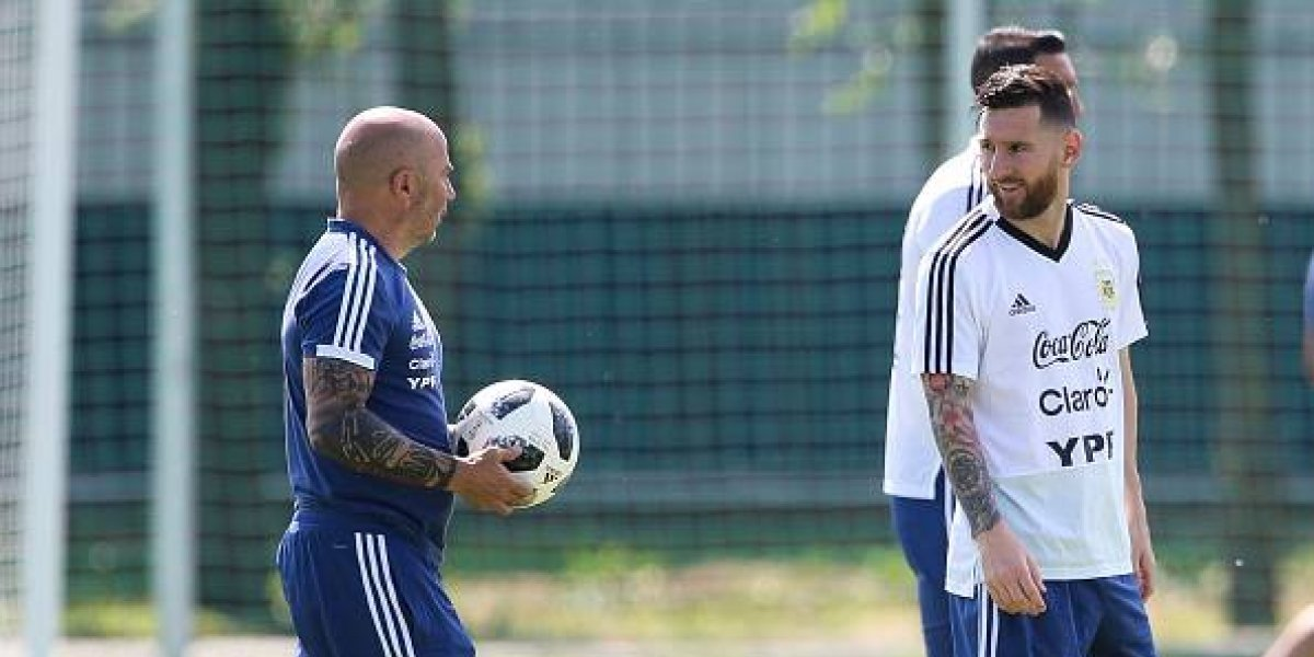 Revelan detalles de las exigencias de Messi a Jorge Sampaoli como técnico de Argentina
