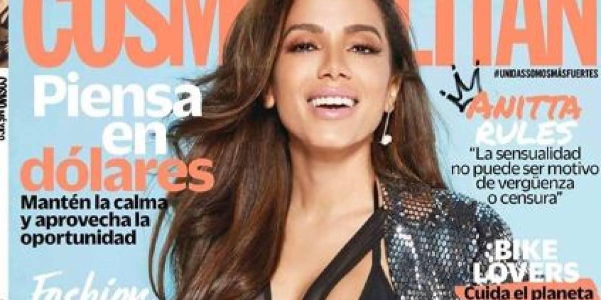 """Anitta é capa da revista Cosmopolitan México: """"Muchas gracias"""""""