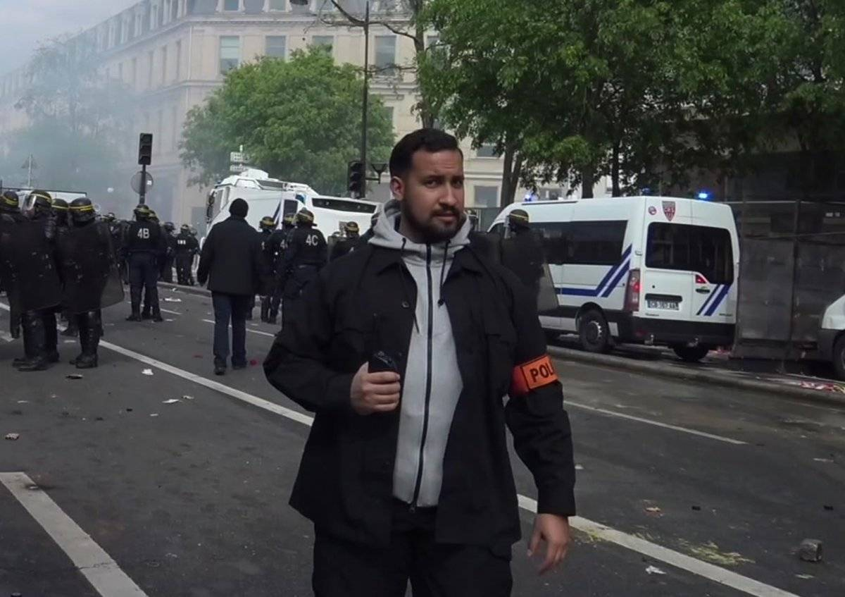 director de seguridad del equipo presidencial Macron
