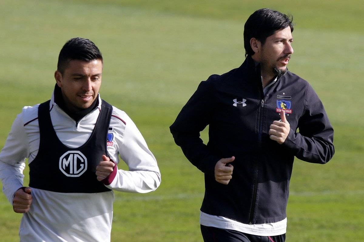 Fierro y Valdés se van al banco / imagen: Agencia UNO