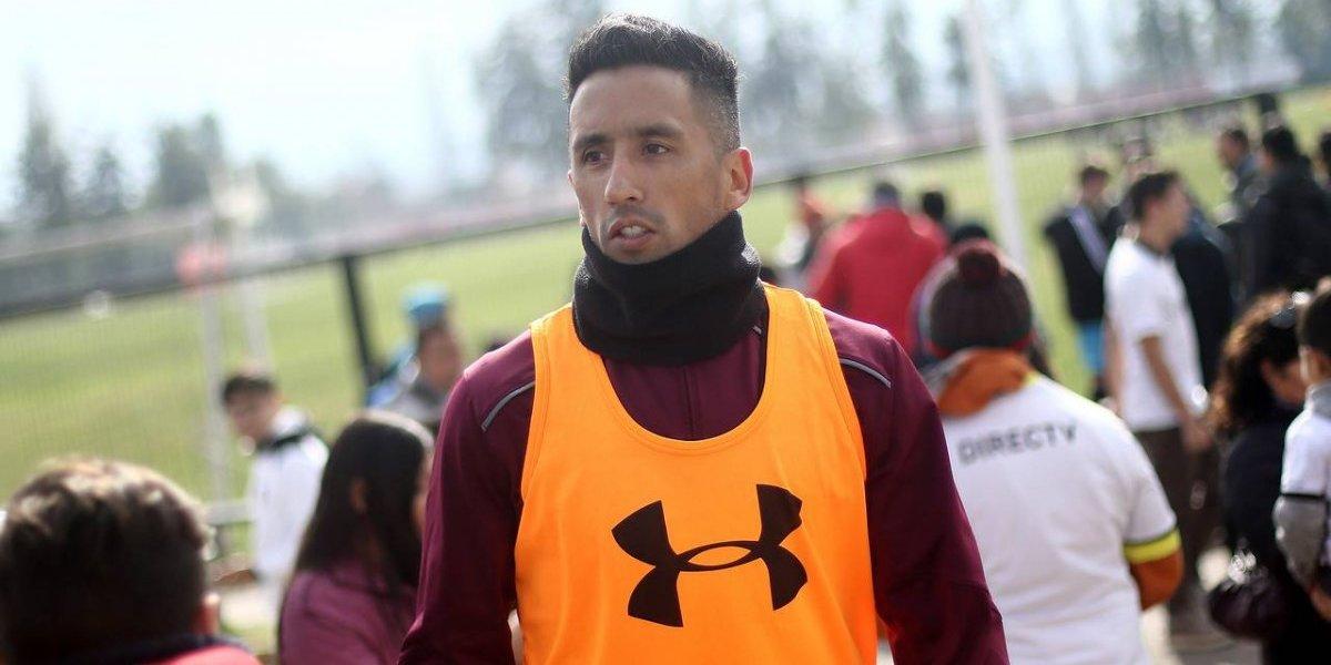 Lucas Barrios está habilitado para jugar en Colo Colo y será titular ante Unión La Calera