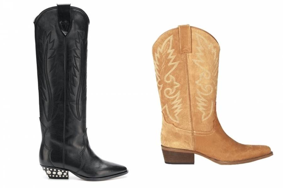 25fe210d005 Las botas cowboy  el calzado que gana terreno en esta temporada ...