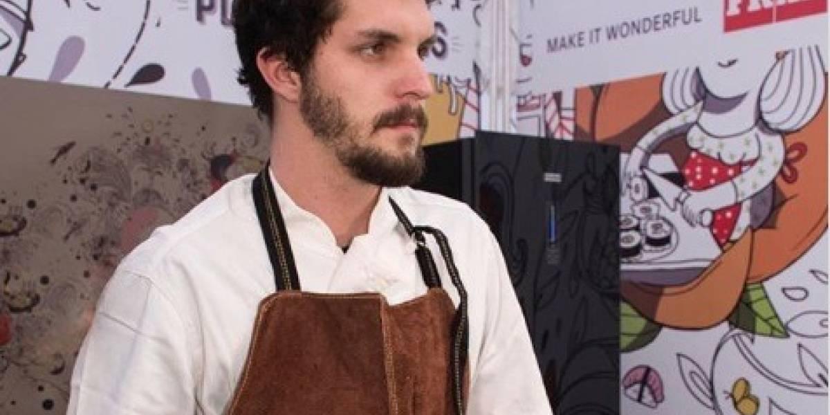 Maximiliano Rivera, el primo chef de Martín Cárcamo que la rompe en Instagram