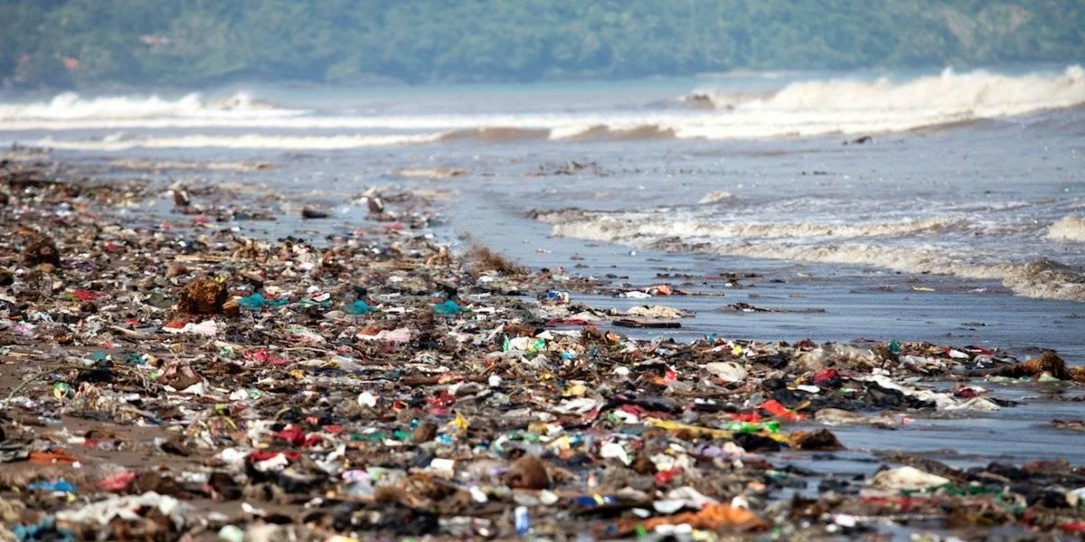 Las impactantes imágenes de la contaminación en playa de República Dominicana