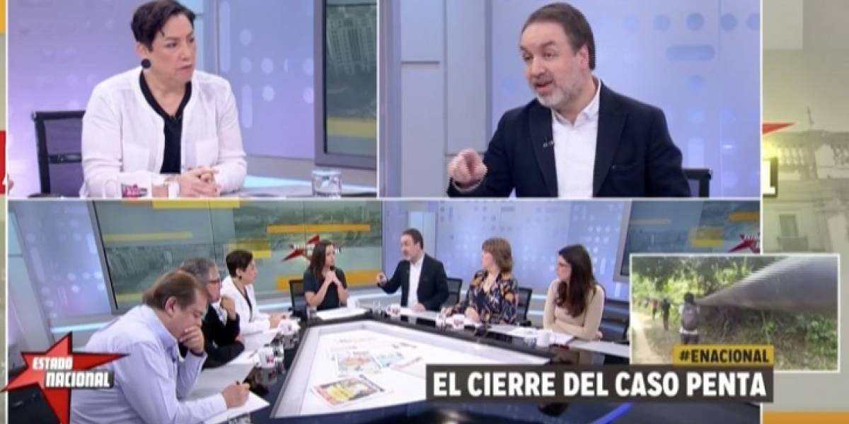 """TVN desmiente sueldo filtrado de Beatriz Sánchez en """"Estado Nacional"""""""