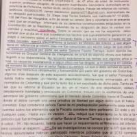 José Serrano asegura que sí se reunió con Chicaiza