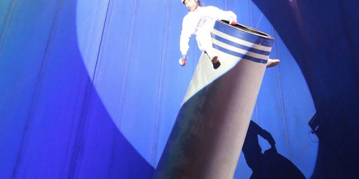 Hombre Bala del circo víctima de un error: operador de compresor olvidó rebajar la presión y casi le cuesta la vida al artista