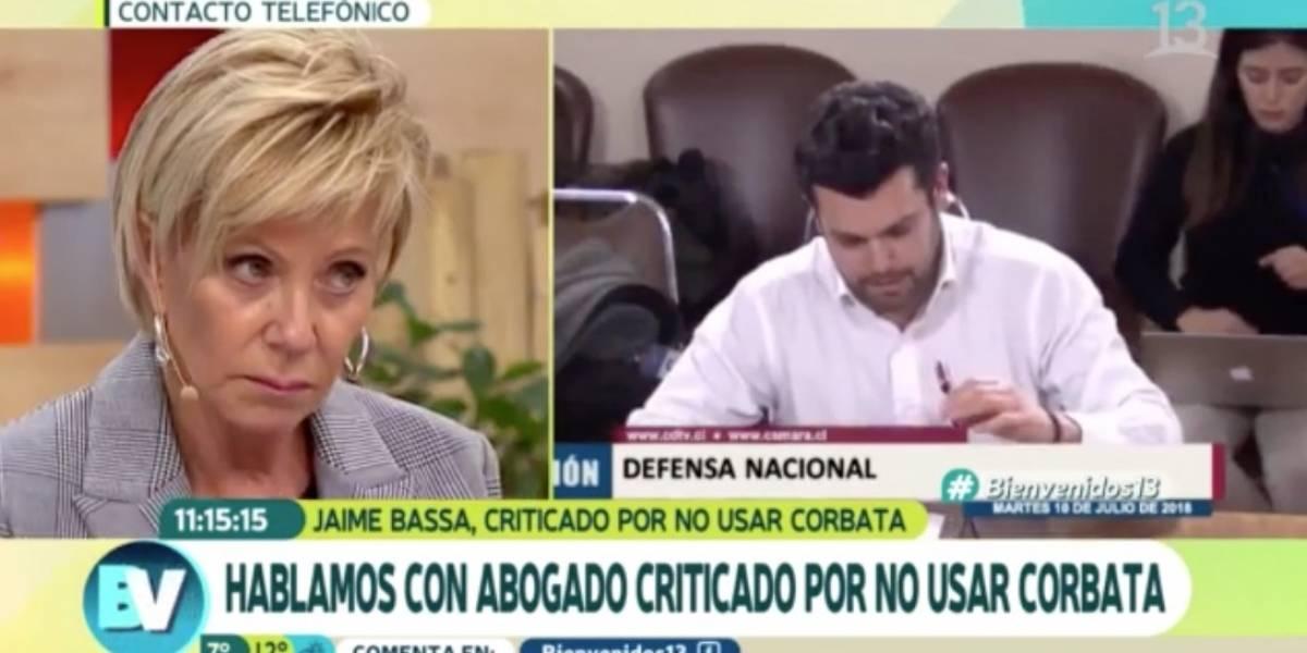 Raquel Argandoña respalda a Oslvado Urrutia por caso de la corbata de Jaime Bassa