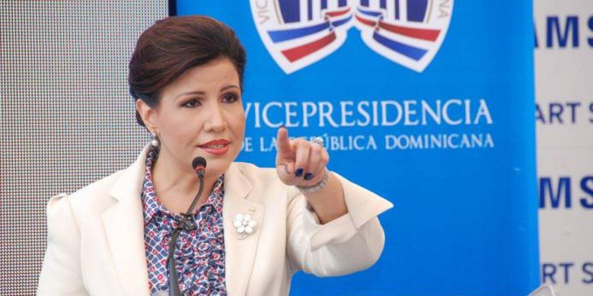 """Margarita Cedeño dice Faride """"se merece todo respeto"""" en debate sobre transparencia"""
