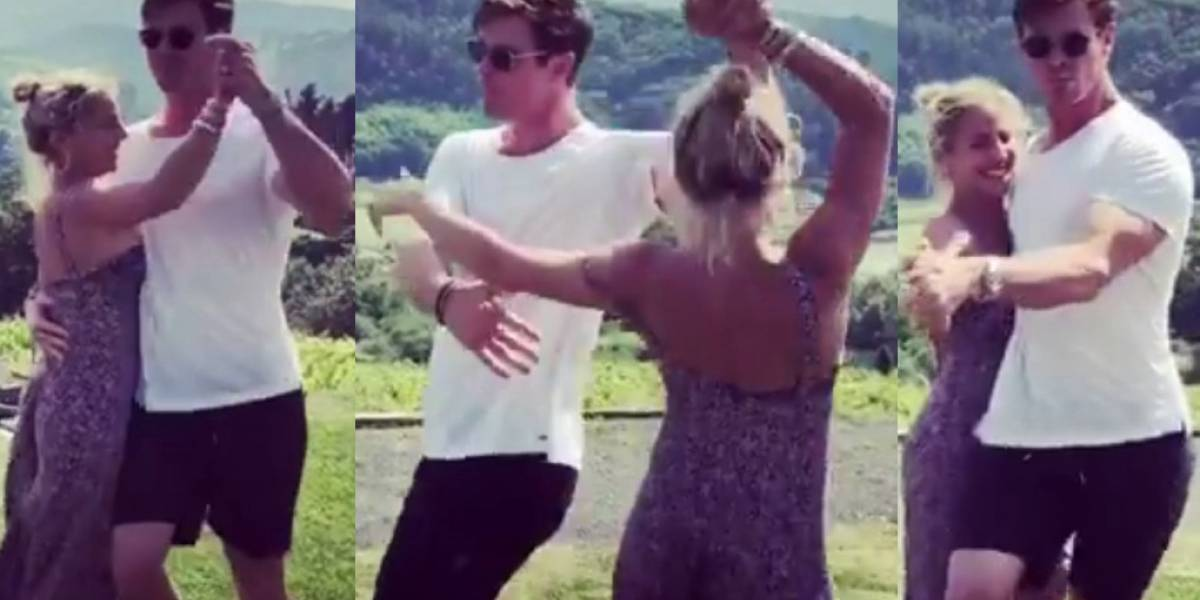 "Chris Hemsworth causa furor con video en el que aparece bailando ""Despacito"" junto a Elsa Pataky"
