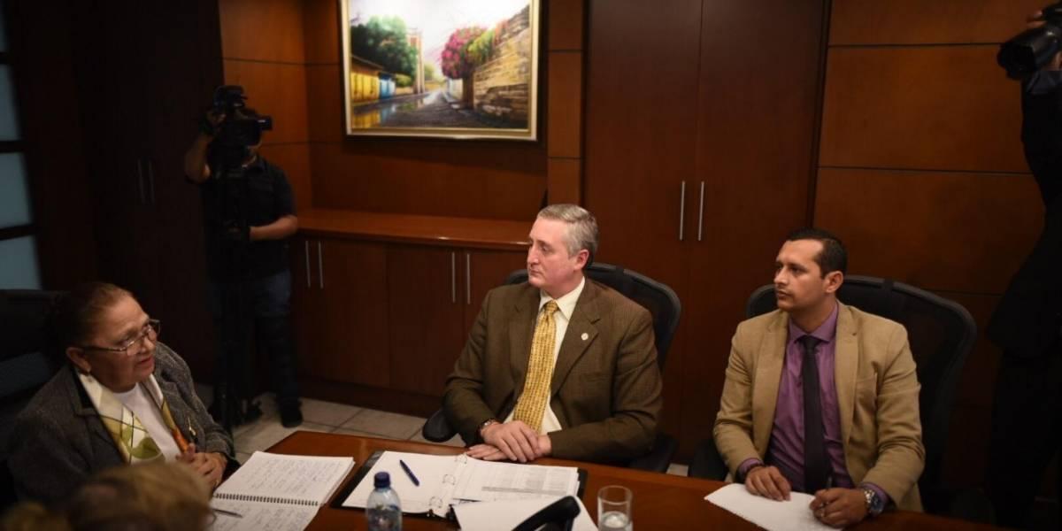 Jefa del MP preocupada por el retiro de la PNC a la CICIG