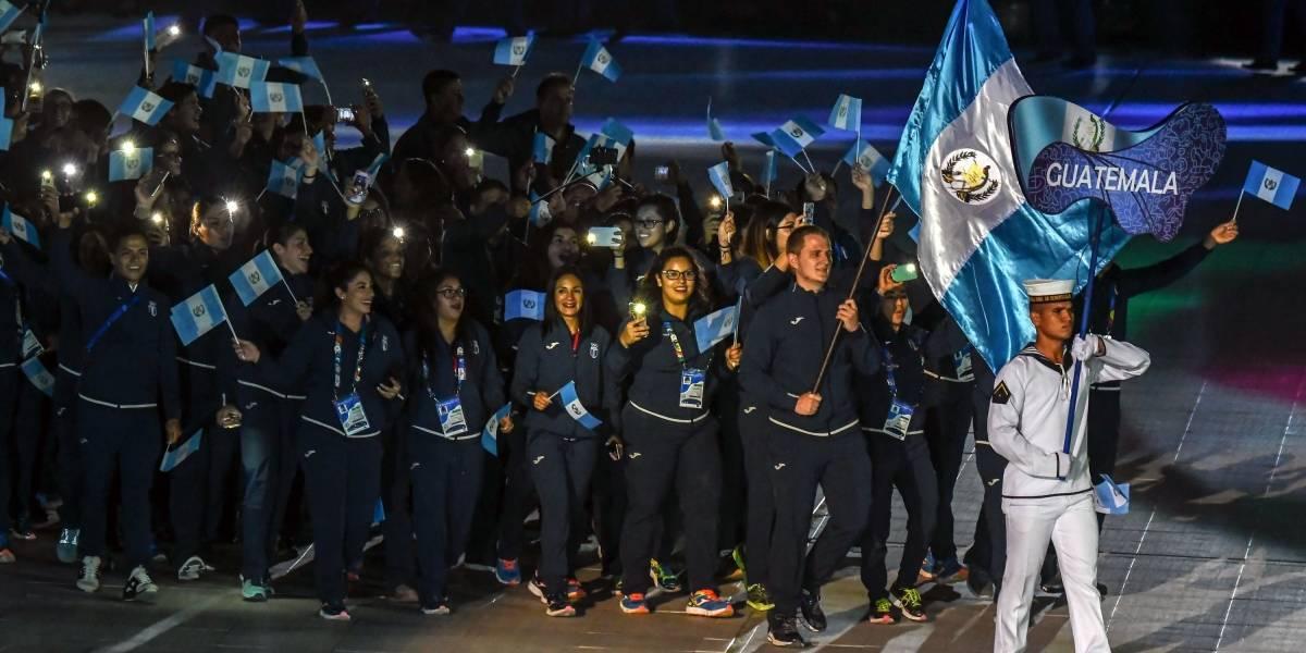 La delegación guatemalteca sorprendió con la canción que los acompañó en su desfile en Barranquilla 2018