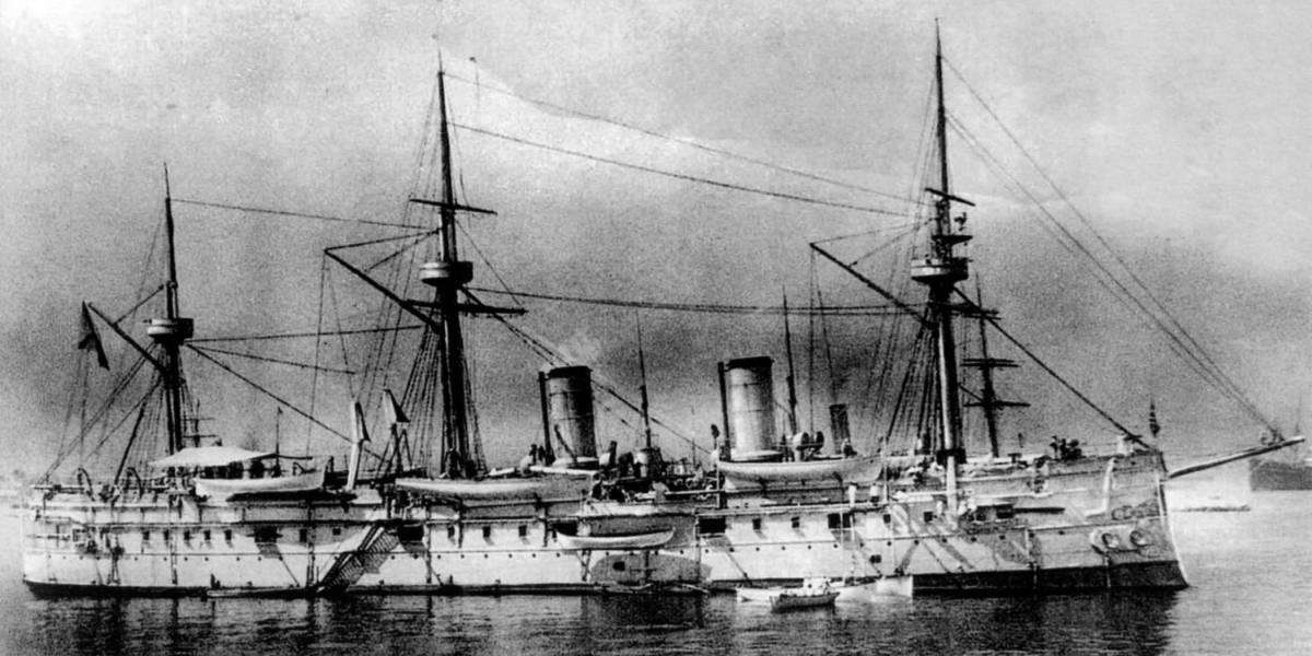 Podría tener una fortuna en oro: hallan buque de guerra de la flota imperial rusa a 113 años de su hundimiento