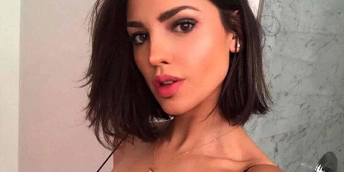 Eiza González presume una fotografía de su antes y después de las cirugías estéticas