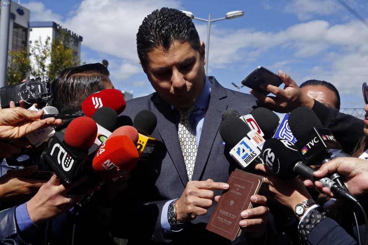 Este viernes 20 de julio la jueza Daniella Camacho envió la convocatoria para la audiencia evaluatoria y preparatoria de juicio sobre el caso de Fernando Balda API