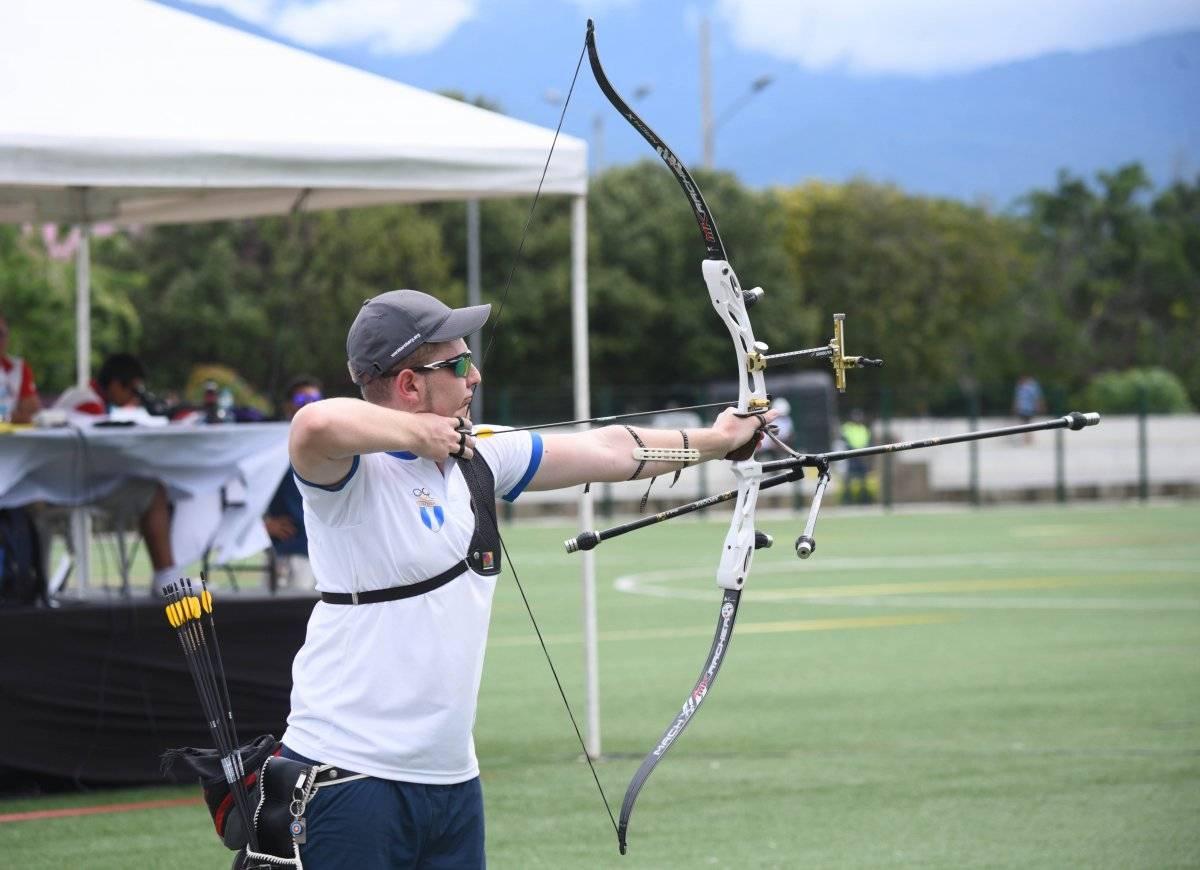 Flossbach es el referente del tiro con arco