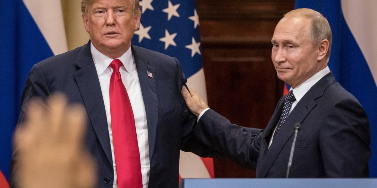 Trump ordena invitar a Vladimir Putin a la Casa Blanca