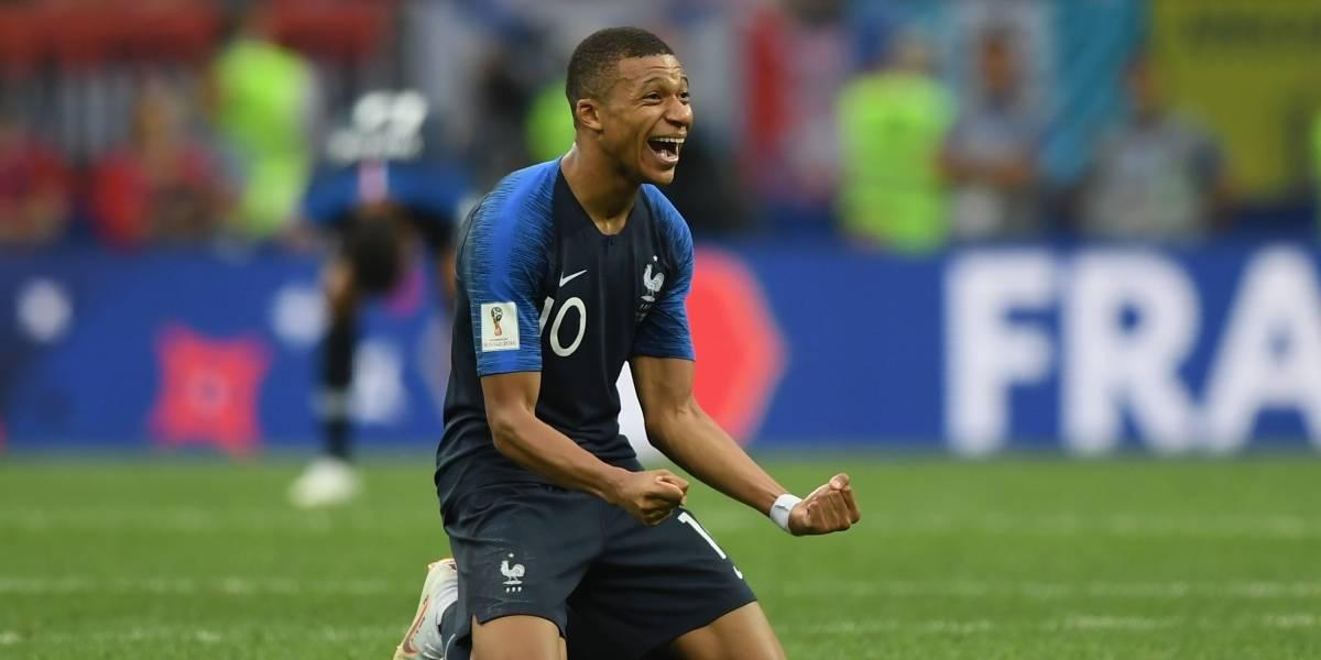 Kylian Mbappé lidera el listado de los futbolistas más valorizados del mercado con una millonaria tasación