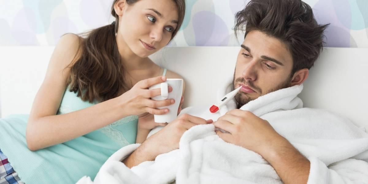 Según la ciencia los hombres son más débiles que las mujeres cuando se enferman