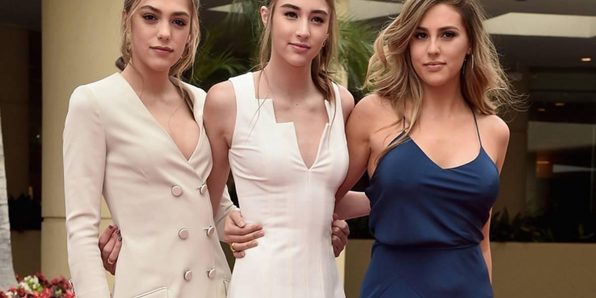 Hijas de Sylvester Stallone calientan las redes con sexys fotos en bikini