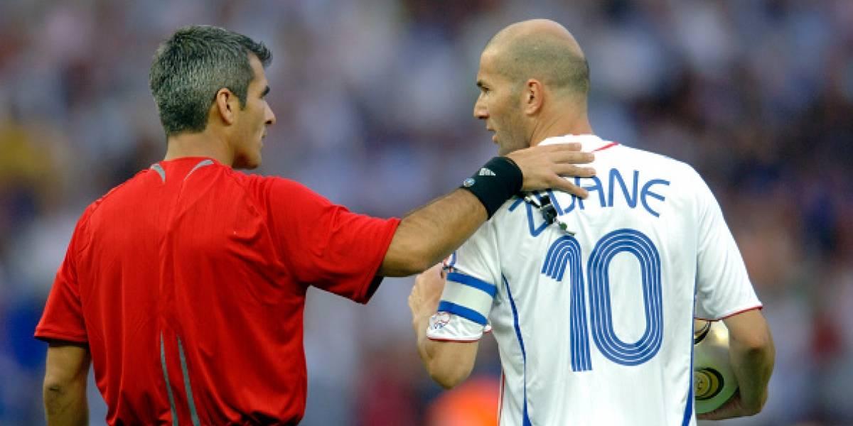 Quién avisó a Horacio Elizondo del cabezazo de Zinedine Zidane a ...