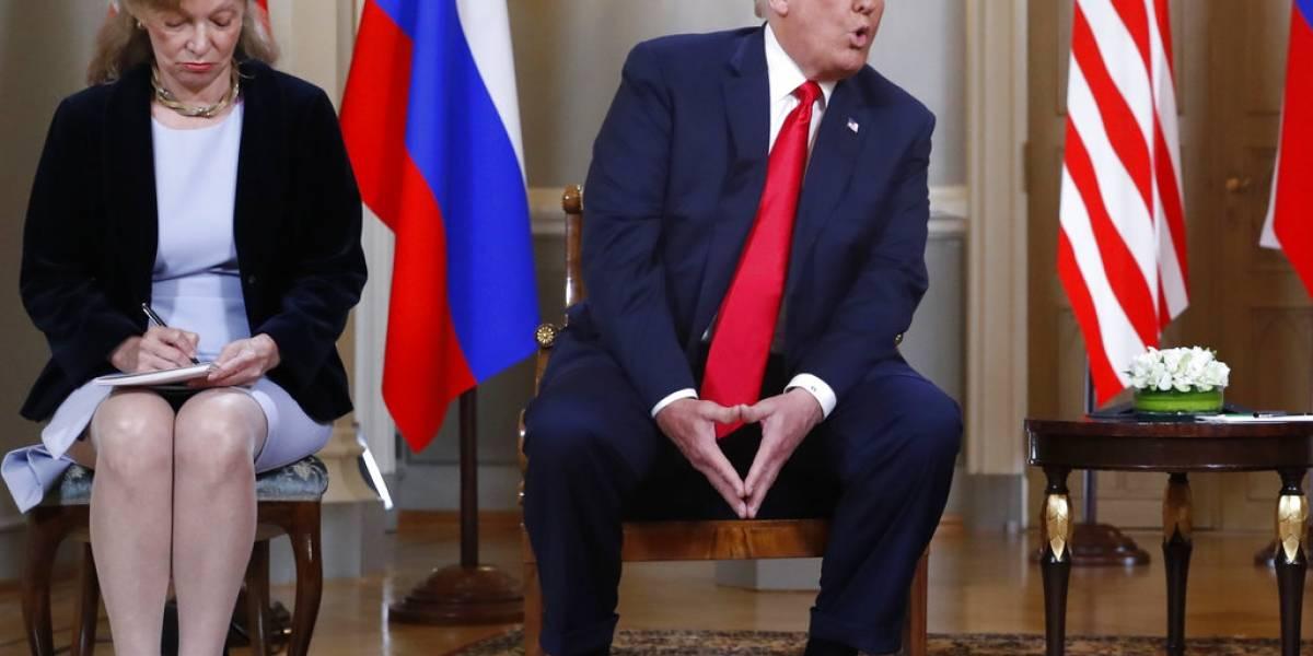 Congresistas de EE.UU. quieren interrogar a intérprete de la cumbre Trump-Putin