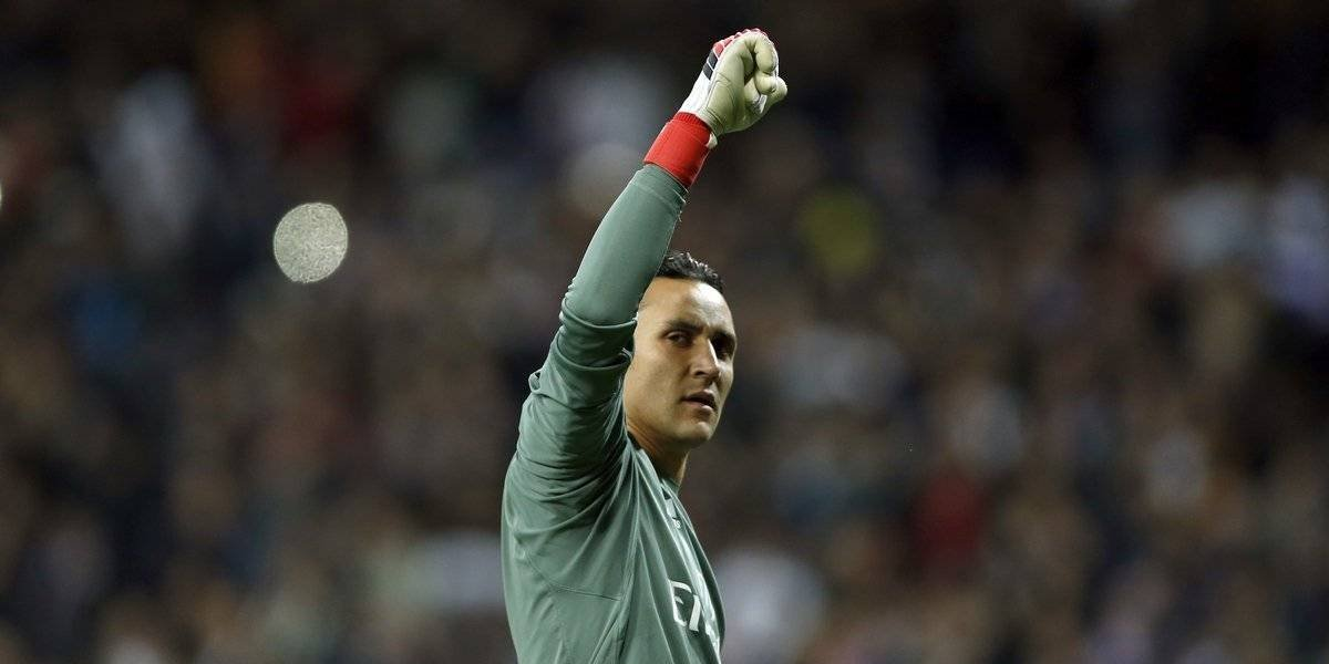 Video. ¿Se estará despidiendo del Real Madrid Keylor Navas?