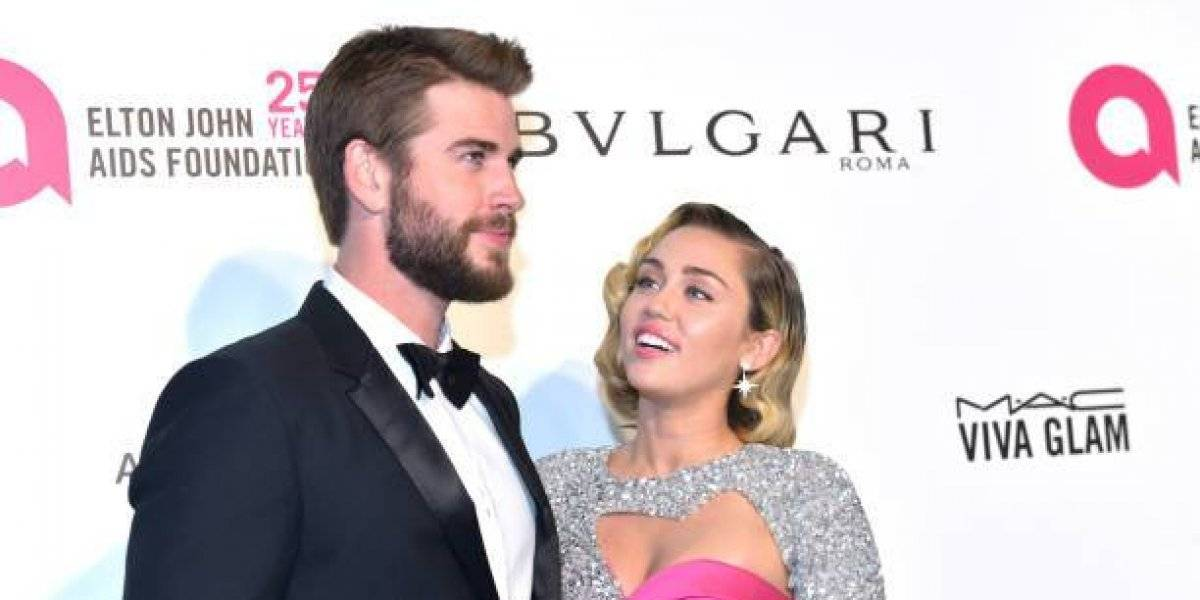 ¡Ni un año duraron! Anuncian el divorcio de Miley Cyrus y Liam Hemsworth