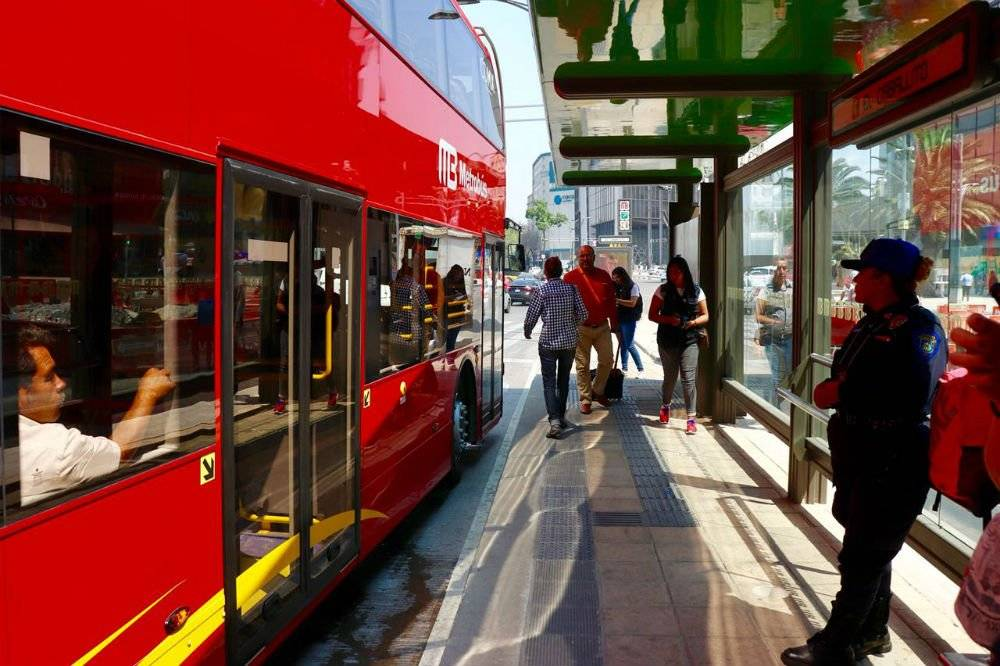 Los transportistas piden un aumento de 1 peso a la tarifa. Cortesía