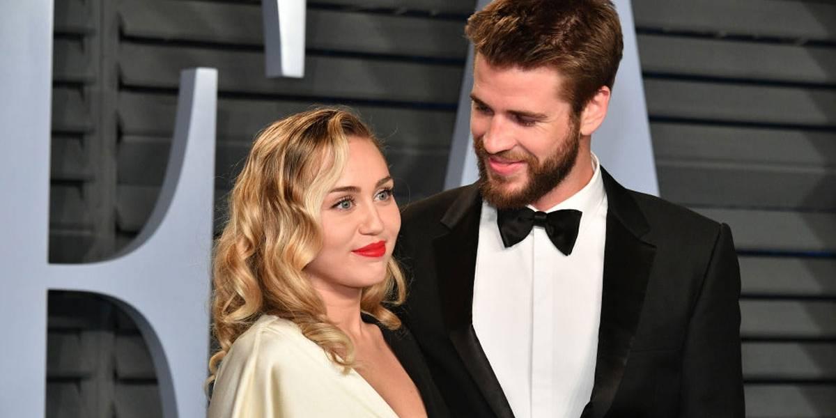 Liam Hemsworth desmente separação de Miley Cyrus com gesto sutil no Instagram