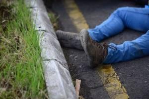motorista fallecido en ruta a El Salvador