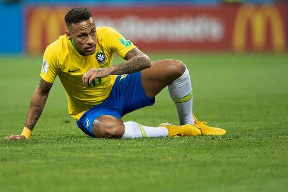 El Mundial se detuvo casi 14 minutos esperando que se reponga Getty