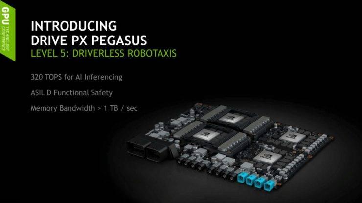 Nvidia está trabajando en su propio sistema de conducción autónoma
