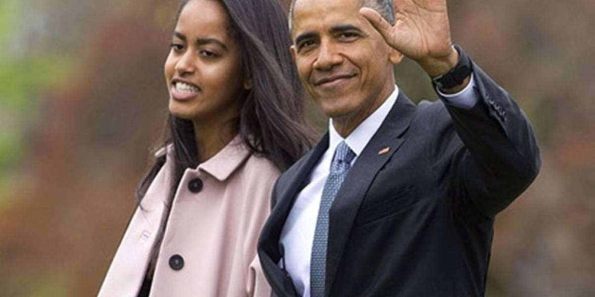 Malia Obama fotografiada en París con un minivestido y de la mano de su novio