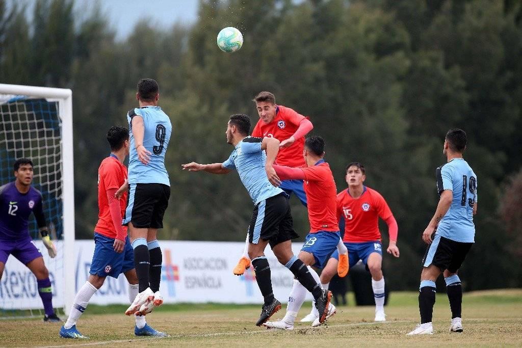 Diego Valencia aparece como uno de los fijos de la UC en la Roja Sub 20 de Héctor Robles / Foto: Carlos Parra - ANFP