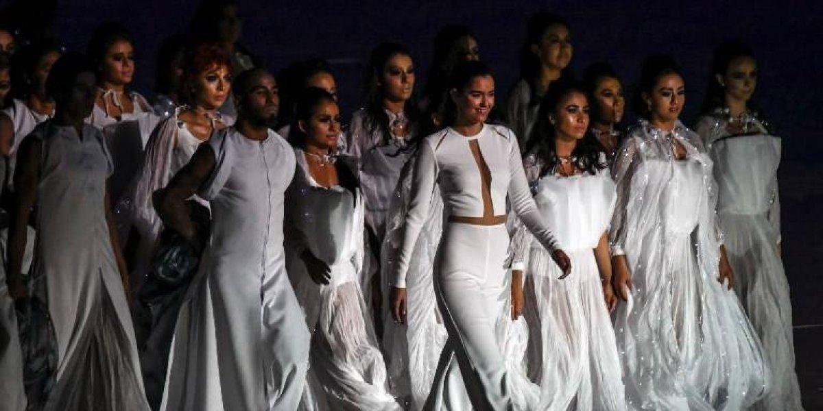 Miss Universo 2014, Paulina Vega deslumbra en los Juegos Centroamericanos y del Caribe