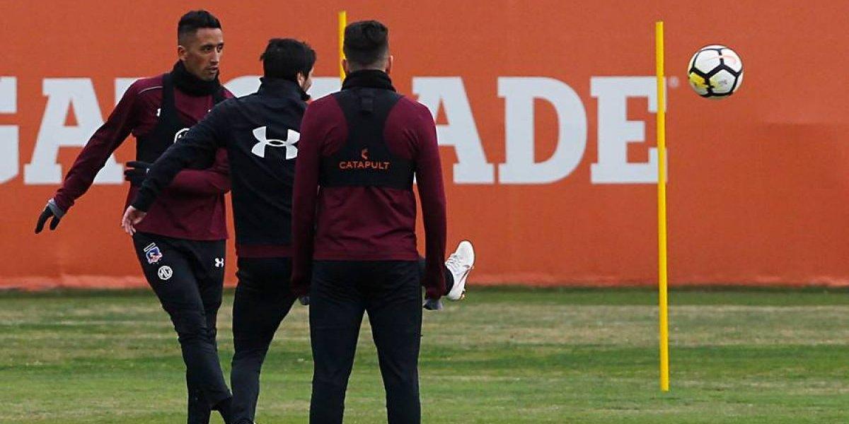 Alerta en Colo Colo: Lucas Barrios podría perderse el duelo con La Calera