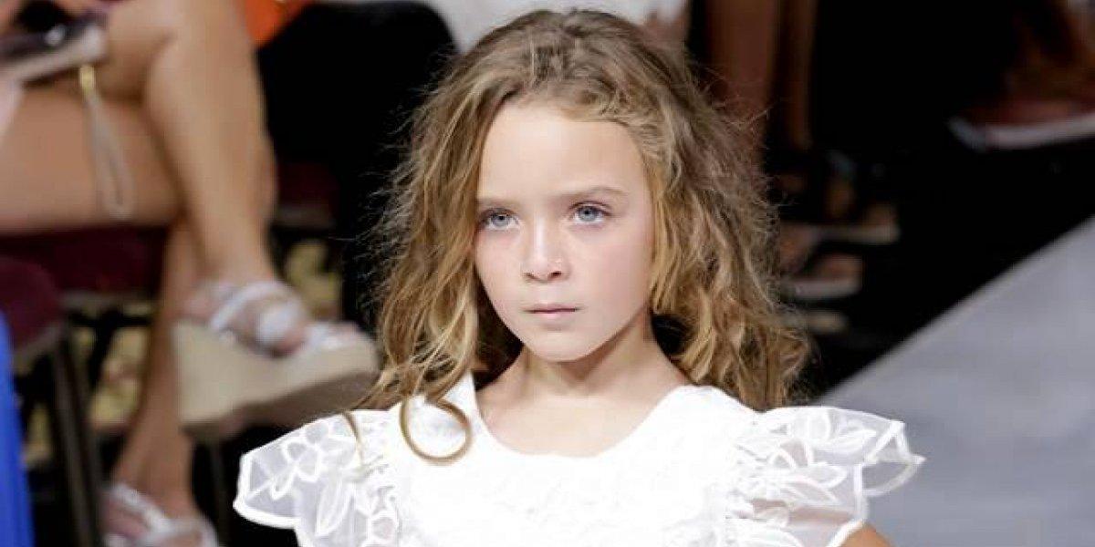 Modelo boricua gana el Kids Fashion Runway en N.Y.