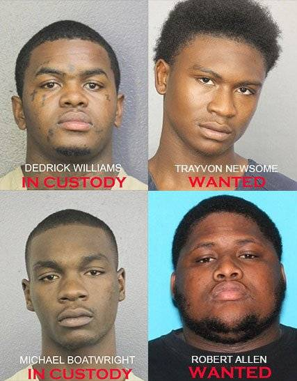suspeitos assassinato XXXTentacion