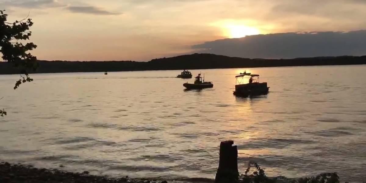 Al menos 11 muertos luego de que un vehículo anfibio se hundió en un lago de Misuri Estados Unidos