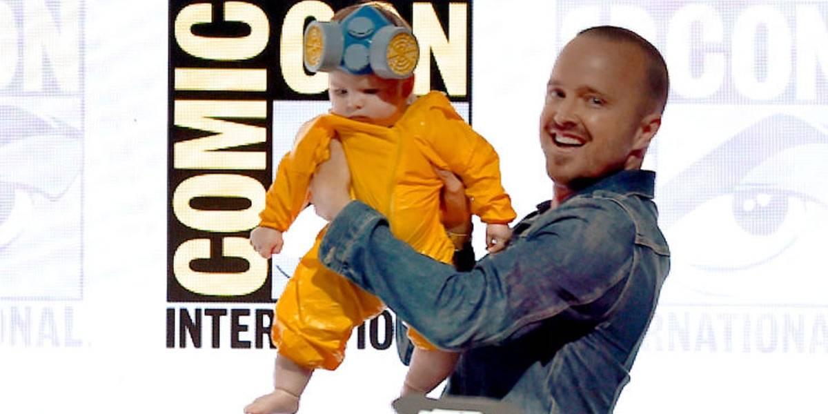 Breaking Bad: filha de Aaron Paul vestida de Pinkman é a coisa mais fofa da Comic Con