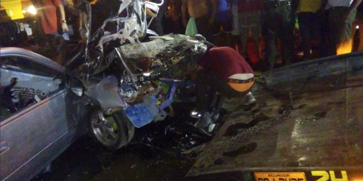 Menor fallecido tras un accidente de tránsito en Juján, Guayas