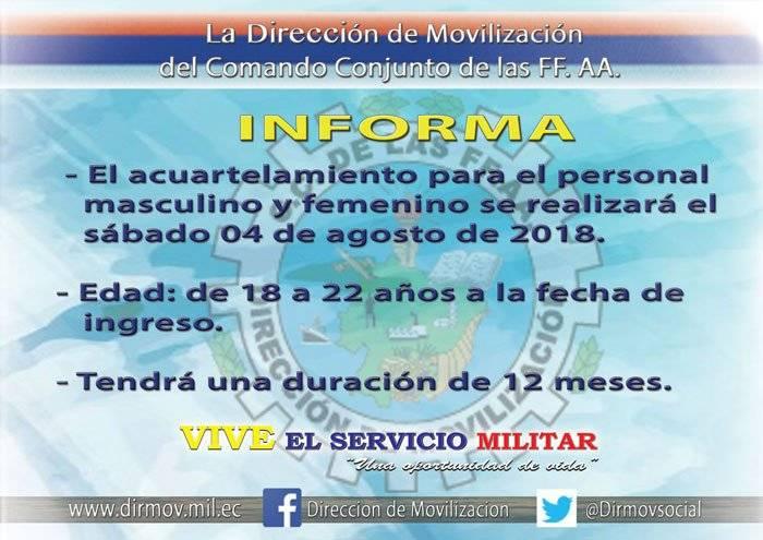 Reclutamiento servicio militar