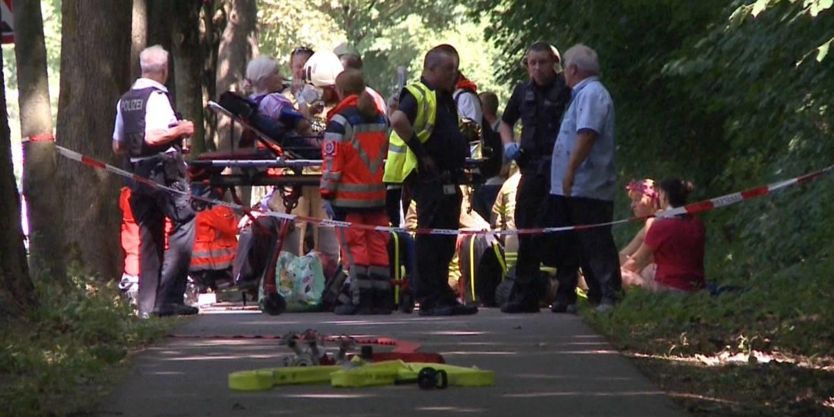 Impactante ataque con cuchillo sobre autobús en Alemania deja al menos diez heridos