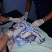 Bebé abandonada en Zacapa