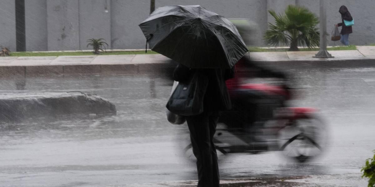 Onda tropical 29 provocará lluvias con actividad eléctrica