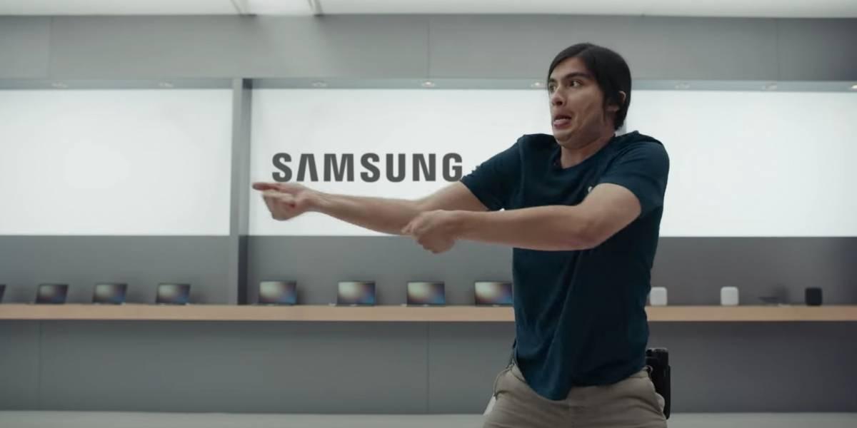 Samsung se burla cruelmente de Apple y el iPhone en estos nuevos comerciales