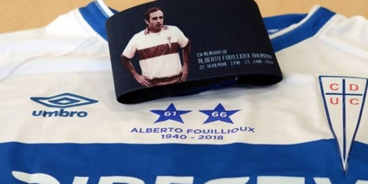 Tito Fouillioux en la memoria: el homenaje que realizará la UC a su ídolo ante Iquique