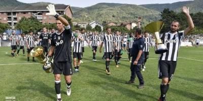 El familiar partido de Villar Perosa en 2017 / imagen: Juventus.com
