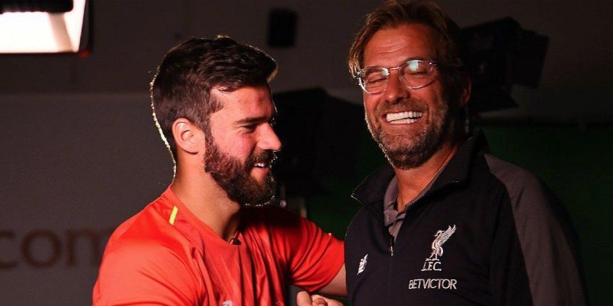 El Liverpool ficha a Alisson Becker por 73 millones de euros